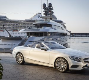 Luxury Car Services during your Mediterranean Luxury Yacht Charter Vacation
