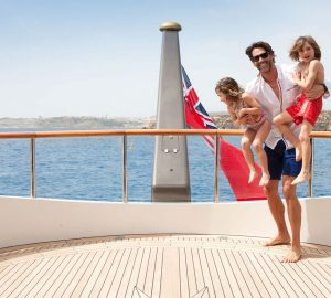 15% Off Unforgettable West Med Superyacht Charters with Benetti's ST DAVID