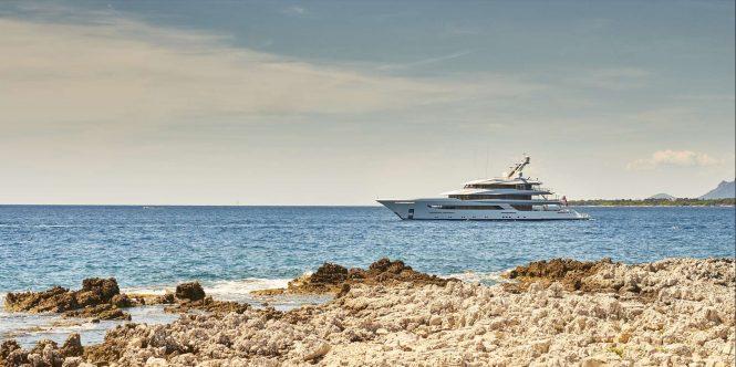 Yacht JOY Cruising in the Mediterranean - Copyright Feadship