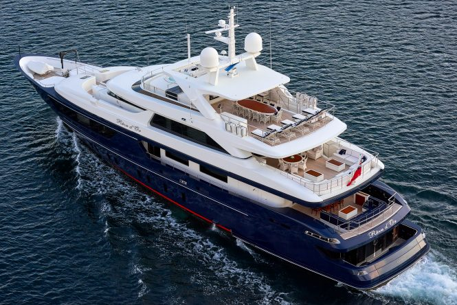 Yacht REVE D'OR by Sanlorenzo available for unforgettable charter vacations