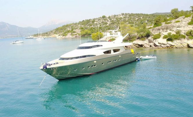 ZAMBEZI available for charter in the Eastern Mediterranean
