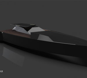 48m NAVE NERA designed by Aras Kazar