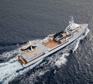 Damen delivers two 71-metre dive support vessels: S/V UMM ALHOUL and S/V DALOOB