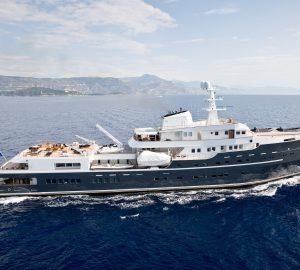 All-Inclusive adventure yacht charter with 77m Explorer superyacht LEGEND