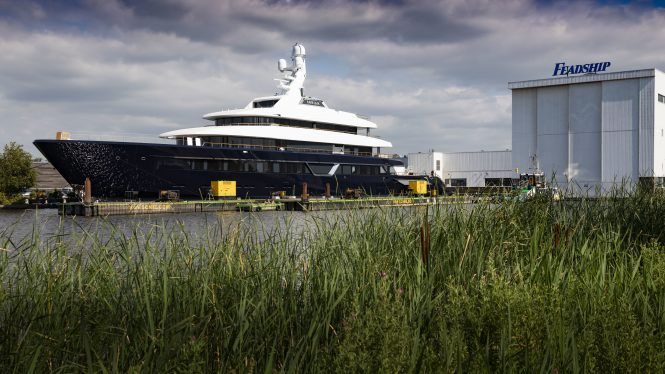 Superyacht Video Building The 87m Feadship Lonian Yacht