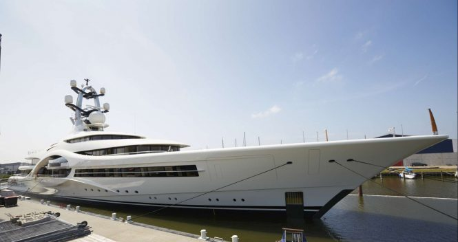 Video Feadship Megayacht Anna Ex Project 1007 Leaving Shipyard