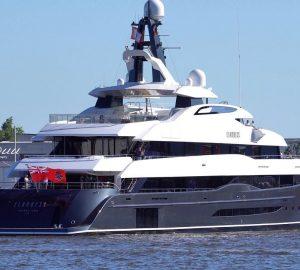 Abeking & Rasmussen motor yacht Elandess delivered. Photo credit DrDuu