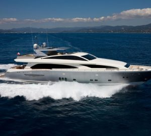Enjoy Italy and South of France with 37m motor yacht NYOTA and no delivery fees