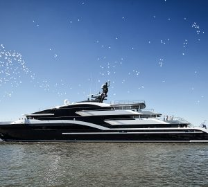 Oceanco 90m/295ft superyacht DAR (Project Shark, Y717) delivered