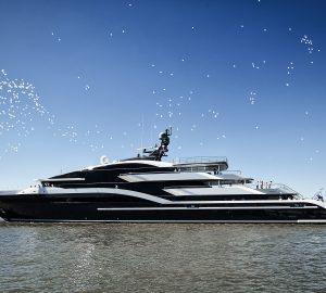 Oceanco 90m/295ft superyacht DAR (Project Shark, Y717) delivered