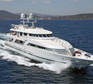 15% discount on Adriatic yacht charter with DEEP BLUE II superyacht