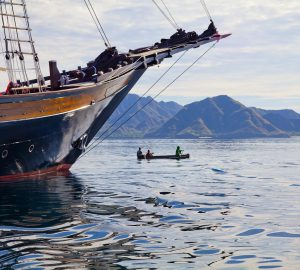 Cruise 10 Days for the price of 8 with traditional Phinisi Sailing Yacht DUNIA BARU in Indonesia