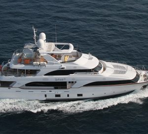 15% charter discount for motor yacht DYNAr in the West Med
