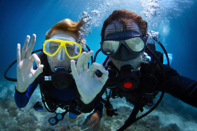 Enjoy the water activities while on charter vacation