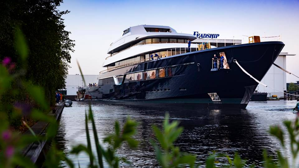 Feadship Project 700 launched