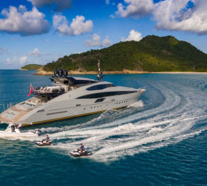 45m superyacht GREY MATTERS offering 25% off Bahamas, Turks and Caicos Charters