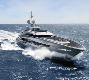50m Steel Class superyacht OMAHA delivered by Heesen