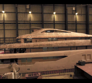 Construction update: The new Icon 280 superyacht taking shape