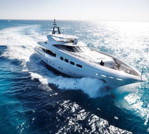 40m INFINITY PACIFIC superyacht available for Whitsundays charter holiday with no delivery fees