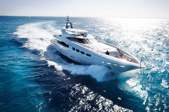 INFINITY PACIFIC superyacht available for charters in Australia