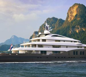 Icon Yachts officially reveals 84-metre Icon280 superyacht