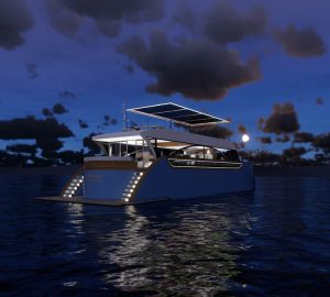 A Yacht Charterer's Dream: Catching Light to launch a Solar Electric 35m Super Yacht 'Josiah' in 2018