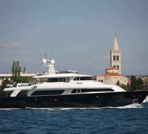 31m KLOBUK superyacht offering charter special in Croatia