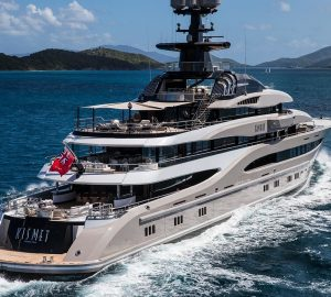 Favourite celebrity superyacht Kismet ready for Mediterranean charters