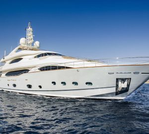 In Pictures: Stepping aboard the newly-refitted 40m Mediterranean charter yacht LIBERTAS
