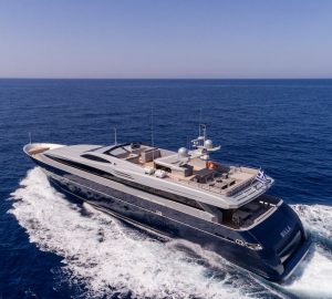 Discounted Greece Yacht Charter Vacations with 41m Superyacht BILLA
