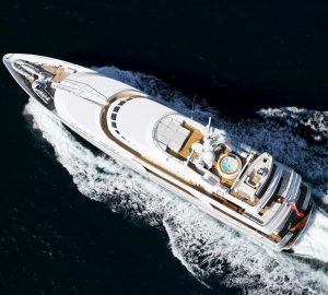 43m DEEP BLUE II offering 15% off a 10-day charter in Southern Italy or Adriatic