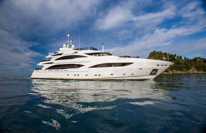 Luxury motor yacht DIANE