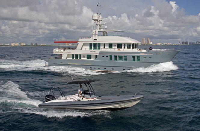 Luxury motor yacht ZULU