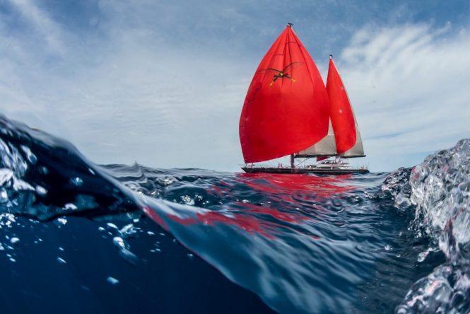 Luxury sailing yacht SEAHAWK