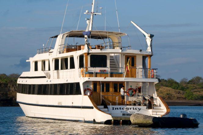 Luxury yacht INTEGRITY