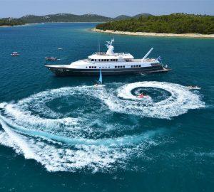 Balearics yacht charter special with 45m BERZINC