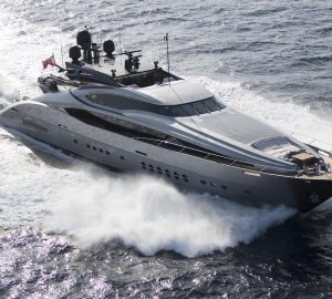 45m SILVER WAVE yacht offering 10% off charters in South of France