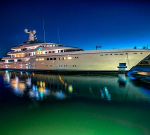Superyacht Kibo enters the charter market in France and Monaco