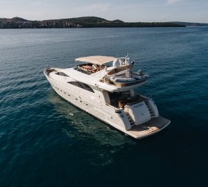 26m charter yacht LADY LONA offering up to 15% off in the Adriatic