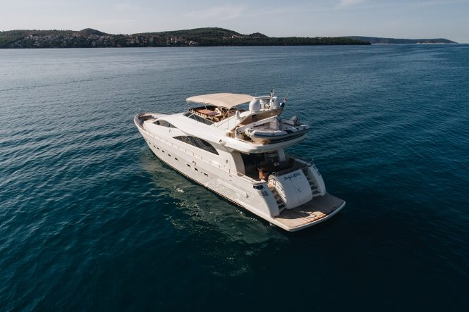 Motor yacht Lady Lona available for charter in the Eastern Mediterranean