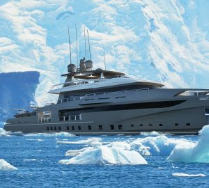 French shipyard Ocea reveals new Nemo 50 Ice expedition yacht concept