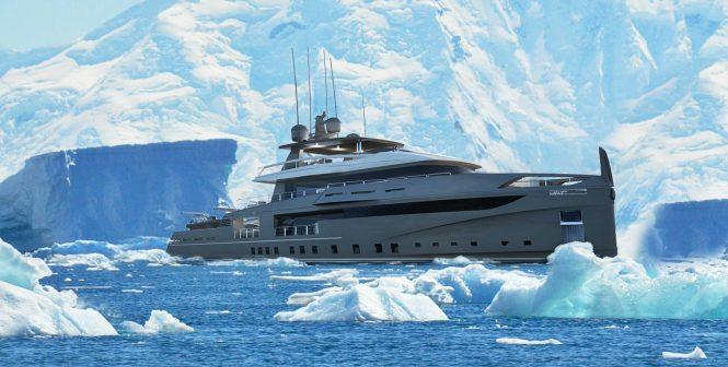 NEMO 50 ICE explorer yacht