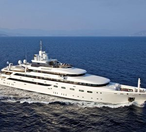 Glamorous refitted superyacht O'Mega returns for Eastern Mediterranean charters