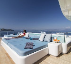 New Luxury Yachts with Amazing Sunbathing Areas