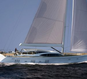 Construction update: The first Oyster 118 sailing yacht