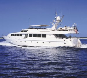 36m Motor Yacht SAVANNAH offering 10% off New England Charters