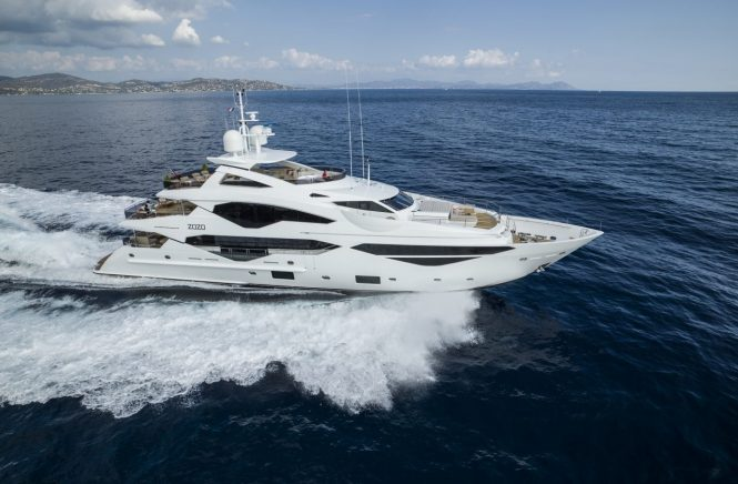 SUNSEEKER 131 yacht ZOZO - sistership to LADY M - Photos of LADY M will be released soon