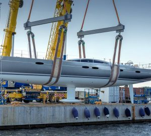 Baltic 85 Custom sailing yacht from Baltic Yachts launched