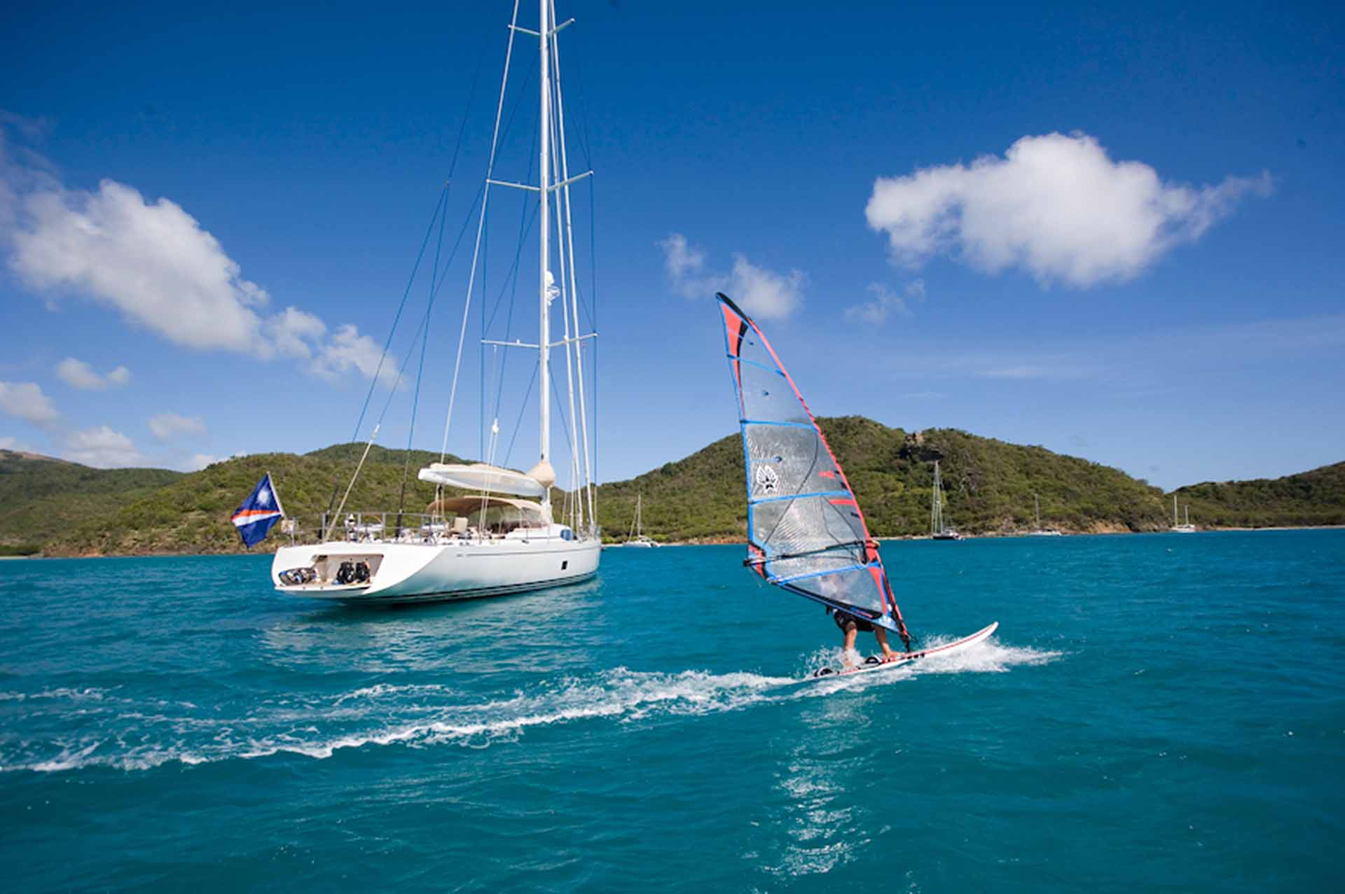 Sailing yacht RAPTURE available for charter