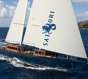 41.5m SATORI offering fantastic Ionian Islands sailing charter vacations with a 10% discount